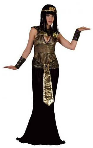 Ladies Fancy Dress Costume Queen of The Nile Egyptian Ancient Egypt by wonderlandtimes (Womens Queen Of The Nile Kostüme)