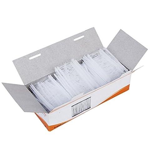 Attache Pour Vetement - 5000pcs 50mm Attaches pour Etiqueteuse Machine d'Etiquettes