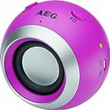 AEG BSS 4817 Bluetooth Lautsprecher pink