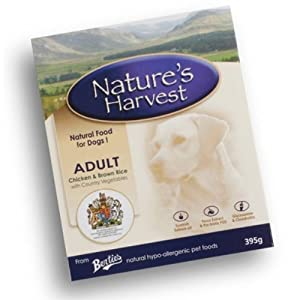 Natures Harvest Adult Chicken & Rice Dog Food 395G X 18 from Monster Pet Supplies