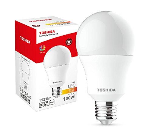 Toshiba LED Bulb A67 15W (100W) 1521lm 2700K 80Ra ND E27, Plastik 100 W, white 69 x 69 x 129 cm
