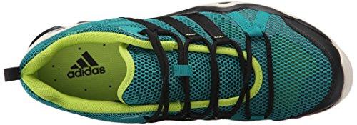 Adidas Outdoor Ax2 Breeze Chaussures de randonnée, noir / alimentation rouge / granit, 8 M Us Equivalent Green/Black/Chalk White