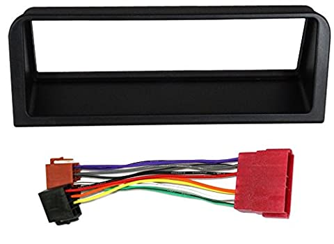 Aerzetix: ISO Car Radio Adapter Kit Front Frame Fascia and Wire Harness Connector