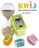Kwid KWIDROSA - Orologio elettronico educativo per bambini, con clessidra, colore: rosa