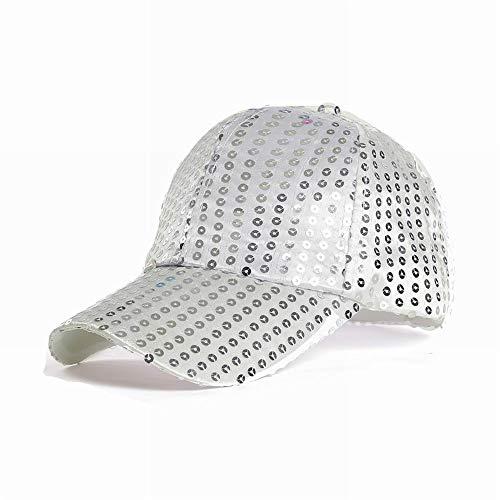 PoeHXtyy Regolabile Glitter Paillettes Baseball Caps Cappelli Partito Ball cap Cappello all'aperto per Le Donne Uomini