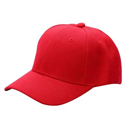 gemini-mall-cappellino-da-baseball-uomo-red-taglia-unica