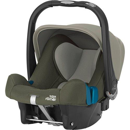 Britax Römer Babyschale BABY-SAFE PLUS SHR II, Gruppe 0+ (Geburt - 13 kg), Kollektion 2018, Olive Green