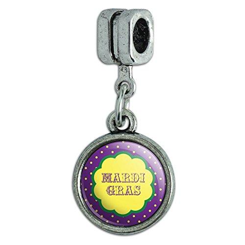 Italienisches im europäischen Stil Armband Charm Bead Celebration Party Dusche Mardi Gras Celebration New Orleans