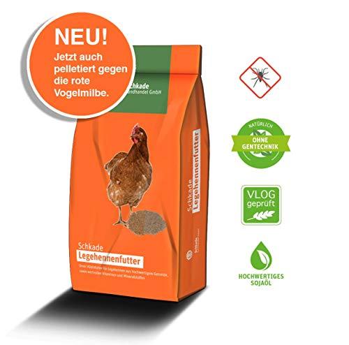 Schkade Landhandel GmbH Legekorn RoVoMil (3 mm pelletiert) - Hühnerfutter gegen Milben (25 kg)