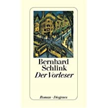 Der Vorleser: Roman (German Edition) by Bernhard Schlink (1995-07-31)