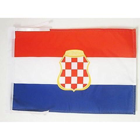 BANDIERA REPUBBLICA CROATA DELL'ERZEG-BOSNIA 1991-1994 45x30cm -