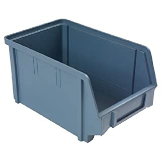 Lager-Sichtbox Groesse 3, 237x146x124 mm, Farbe avio