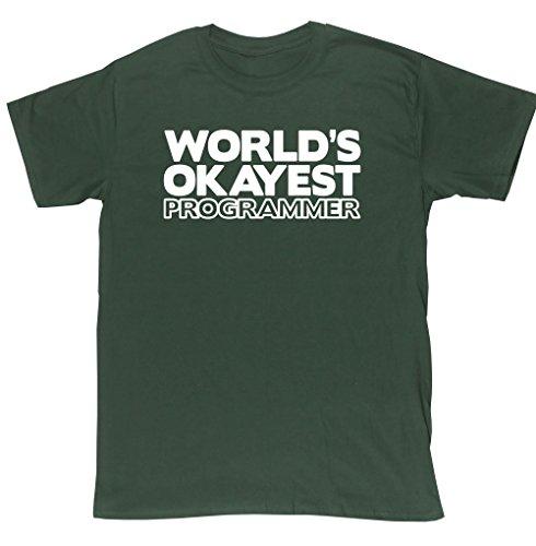 hippowarehouse-camiseta-para-hombre-verde-verde-forest-green-xx-large