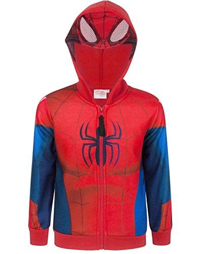 Up Costume Hoodie (3 Years) (Spider Man Boy Kostüm)