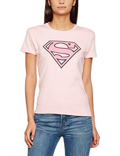 Supergirl - T-shirt -  Fille Bleu - Bleu