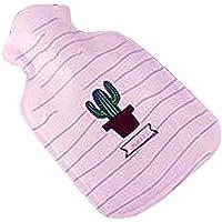 Warm Classic Kleine 0,1 L Warmwasser-Flasche niedlichen Cartoon Safe Wasser-gefüllt, Rosa (Kaktus) preisvergleich bei billige-tabletten.eu