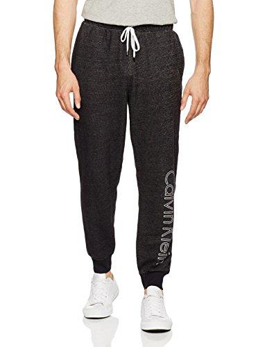 Calvin Klein Herren Relaxed Sport Jogger JOGGER 000NM1360E, Gr. 50 (Herstellergröße:M), Schwarz (Black 001) (Calvin Sportswear Klein)