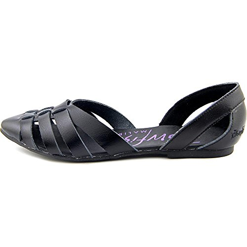 Blowfish Zeal Femmes Synthétique Chaussure Plate Black