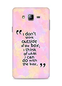 AMEZ i dont think out of the box Back Cover For Samsung Galaxy ON5