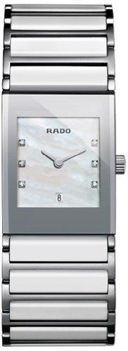 Rado Damen-Armbanduhr Analog Quarz Edelstahl 160.0746.3.190