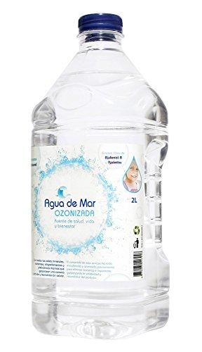 ACQUA DI MARE OZONIZZATO. 2 litro acqua bottiglia Mare con ozono. Drink sana e indispensabile per la cottura (aumenta sapori, fornisce i nutrienti e mantiene gli alimenti freschi)