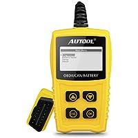 Autool OBDII OBD2 Lector de código, CS330 diagnóstico automático, escáner de código de Motor
