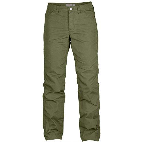 Fjällräven Damen Greenland Lite Jeans W Pantaloni Lunghi verde