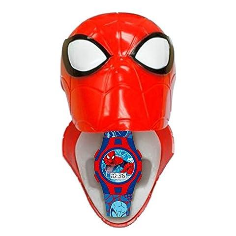 Montre digitale dans Boîte 3D Spiderman