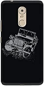 The Racoon Grip printed designer hard back mobile phone case cover for Lenovo K6 Note. (Thar)
