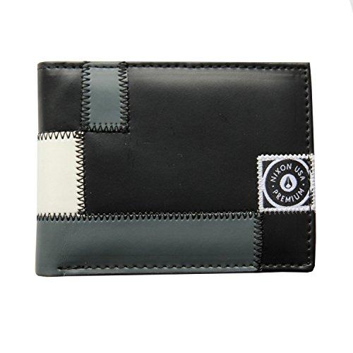 Nixon Woven Out Bi-Fold Wallet Black -