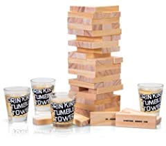 Idea Regalo - Tobar 20624 - Gioco Drinking Tumble Tower