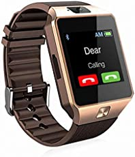 Padraig Samsung Galaxy Edge 4G Compatible Bluetooth DZ09 Smart Watch Wrist Watch Phone with Camera & SIM Card Support