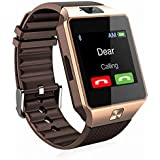 Padraig Bluetooth DZ09 Camera and SIM Card Support Smartwatch Compatible with Samsung Galaxy Edge 4G