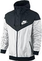 Nike windrunner veste coupe vent à capuche et fermeture éclair