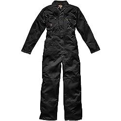 Dickies WD4839, Combinaison de Travail Homme, Noir (Noir), Small (Taille Fabricant: 36UK/40FR)