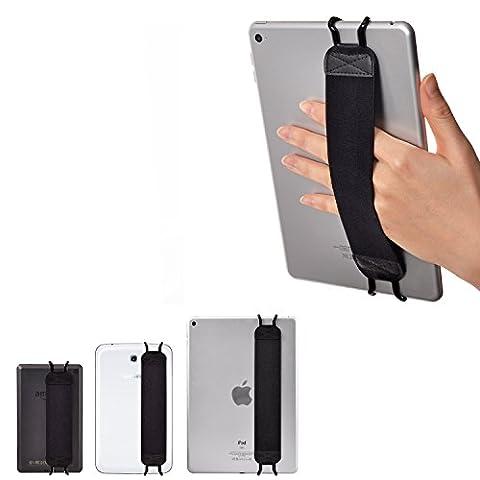 TFY Sangle de Maintien pour Tablettes & iPad - Apple iPad, iPad 4 (iPad 2 & 3), iPad Air (iPad Air 2), iPad Mini - iPad Pro 9.7