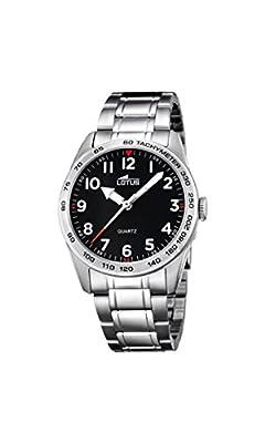 Lotus Unisex Reloj de pulsera analógico cuarzo acero inoxidable 18275/3 de Lotus