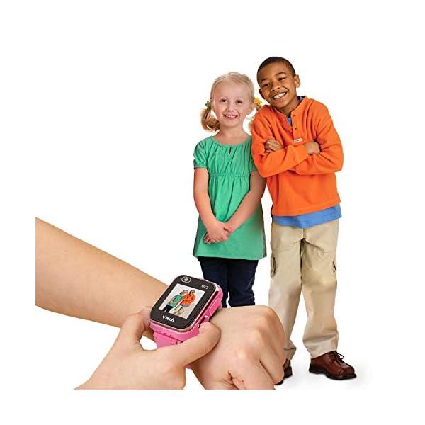 VTech 3480-193822 Kidizoom Smart Watch DX2 - Reloj inteligente para niños con doble cámara, color azul 5