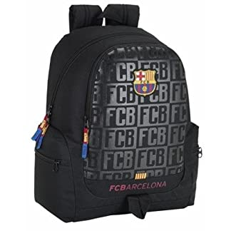 41Z8ya o%2BXL. SS324  - Safta Mochila juvenil F.C.Barcelona Black Oficial 320x170x430mm
