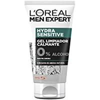 L'Oreal Men Expert Hydra Sensitive Gel Limpiador Calmante para Piel Sensible - 150 ml