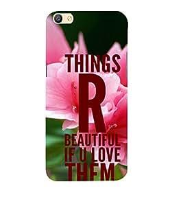 PrintVisa Designer Back Case Cover for Oppo F3 Plus (Love Defining Quote)