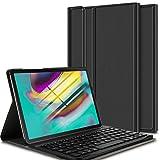 ELTD Teclado Estuche para Samsung Galaxy Tab S5e 10.5 T720/T725,[QWERTY], Protectora Funda con Desmontable Wireless Teclado para Samsung Galaxy Tab S5e T720/T725 10.5 2019 Tableta, (Negro)