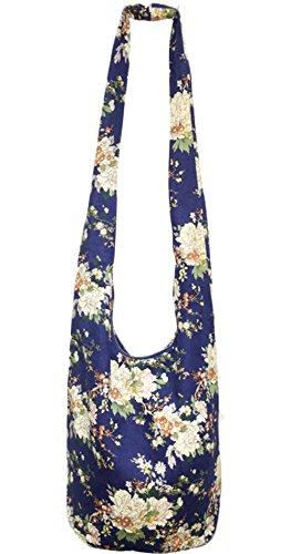 NiNE CiF Borsa da spiaggia, floral 1055 (multicolore) - 026# floral 719