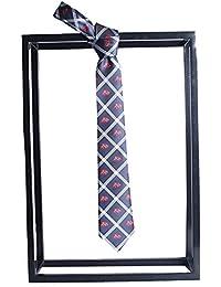 c68e1603c Goodvk Corbata de Hombre Hecha a Mano Creativa Personalidad Rayas Blancas  Decoración de Animales pequeños Nuevo