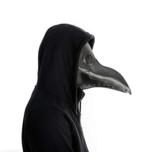 ATEZIEU Pest Doctor Bird Mask Long Nose Beak Cosplay Steampunk Halloween Kostüme Props Festival Parties