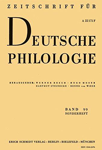 Annette von Droste-Hülshoff,Die Judenbuche: Neue Studien und Interpretationen (Sonderhefte der Zeitschrift für deutsche Philologie)