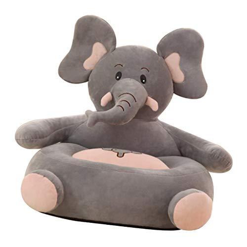 F Fityle Kinder Tiere Sitzsackhülle Sitzsack Sitzkissen Sitzsäcke für Kinderzimmer Wohnzimmer - Elefant