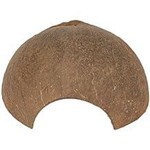 ueetek Natural Coco de casquillos de reptil de vaciar de Cavernas de decoración de Acuario de