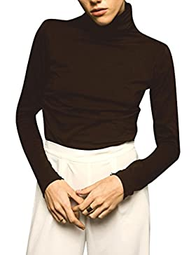 Lifegist Nervion, Camiseta Cuello Alto para Mujer