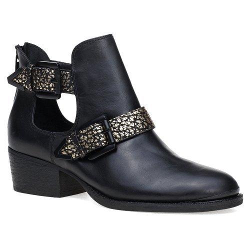 elliott-lucca-bottes-pour-femme-noir-black-gold-metallic-leather